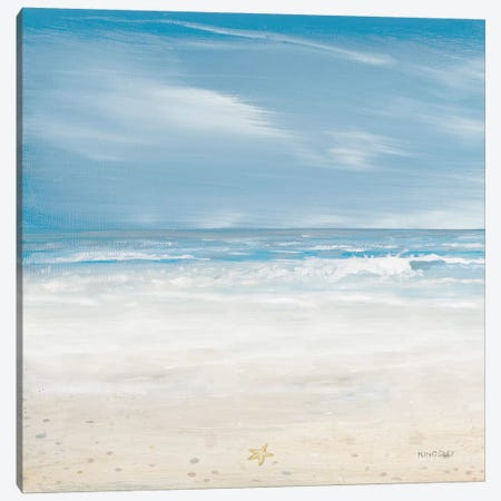 Misty Coastal Days II Canvas Print #KGS22} by Kingsley Canvas Art