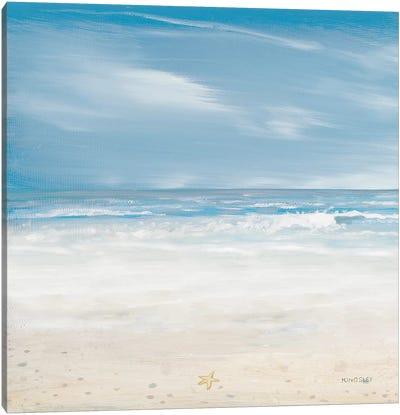 Misty Coastal Days II Canvas Art Print