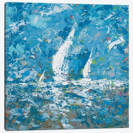 Sailing II Canvas Print #KGS25} by Kingsley Art Print