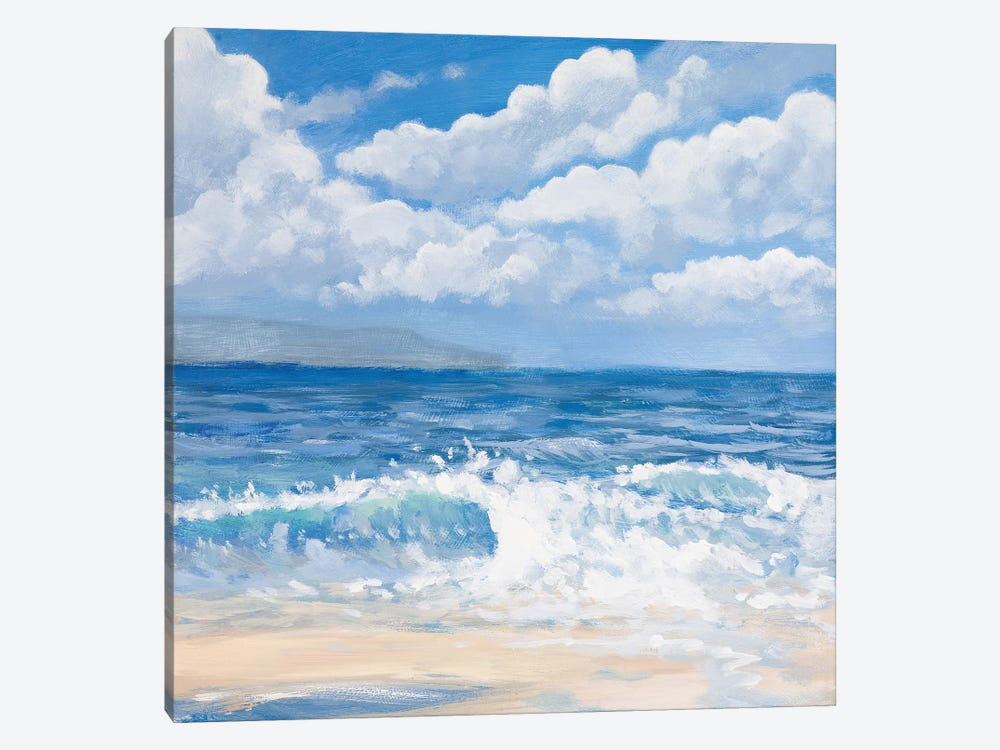 Waves I by Kingsley 1-piece Canvas Wall Art