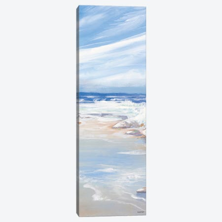 Beach Panel I Canvas Print #KGS2} by Kingsley Canvas Art Print