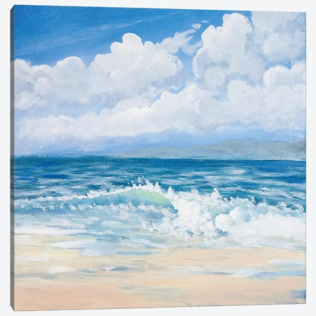 Waves II Canvas Print #KGS30} by Kingsley Art Print