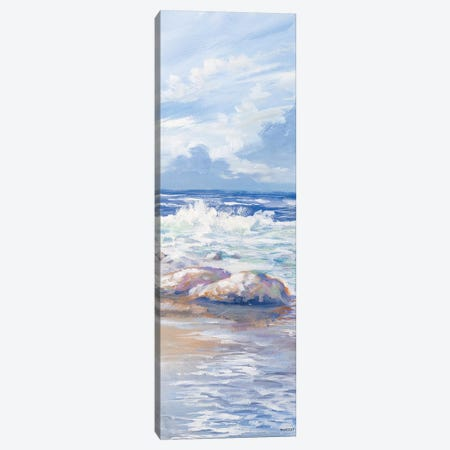 Beach Panel II Canvas Print #KGS3} by Kingsley Canvas Print