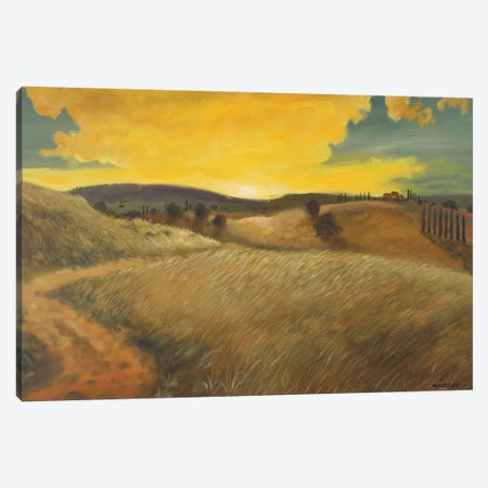 Bella Landscape Canvas Print #KGS4} by Kingsley Canvas Artwork