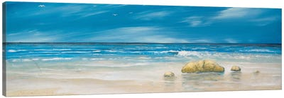 By The Shore Canvas Art Print