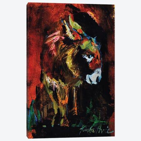 Donkey Boy From The Farm Canvas Print #KGU34} by Kim Guthrie Canvas Wall Art