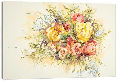Bridal Bouquet Canvas Art Print