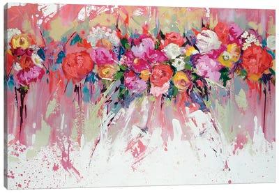 Bridal Party Bouquet Canvas Art Print