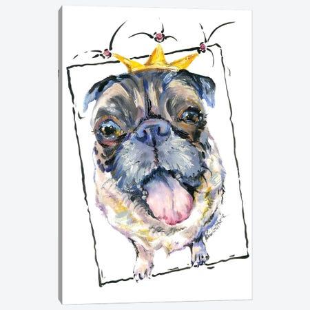 French Bulldog Pug Canvas Print #KGU51} by Kim Guthrie Canvas Print