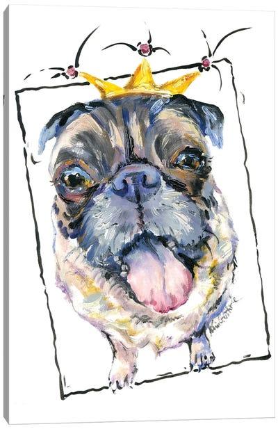 French Bulldog Pug Canvas Art Print