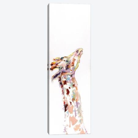 Painting Of A Giraffe Canvas Print #KGU57} by Kim Guthrie Canvas Art