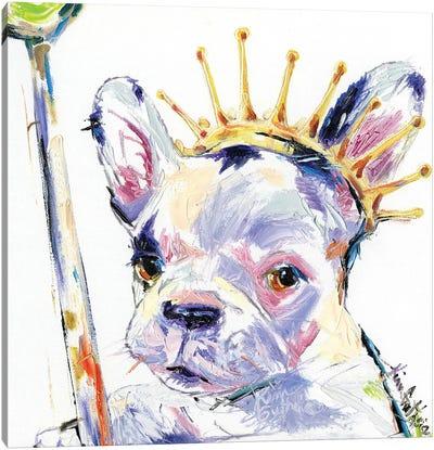 Dog Royalty Oil Canvas Art Print