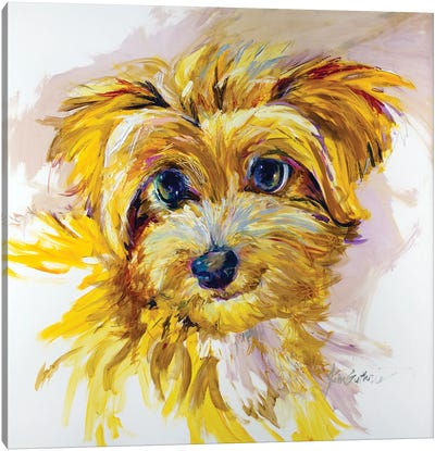 Doodle Dog Canvas Art Print