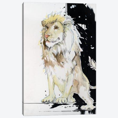 King Of This Shindig Lion Canvas Print #KGU8} by Kim Guthrie Canvas Print
