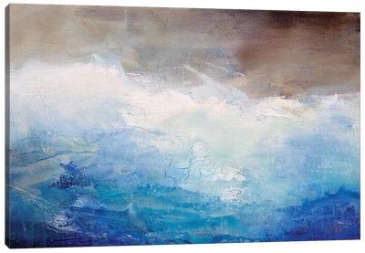 Ombre Blue Canvas Print #KHA6