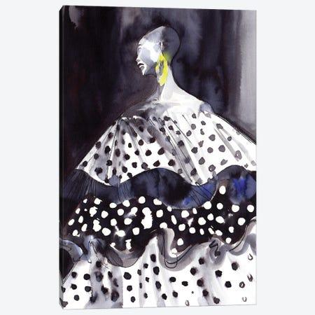 Carolina Herrera Resort 2021 Canvas Print #KHB11} by Khrystyna Barabanova Canvas Artwork