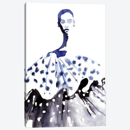 Dots And Waves Canvas Print #KHB12} by Khrystyna Barabanova Canvas Art