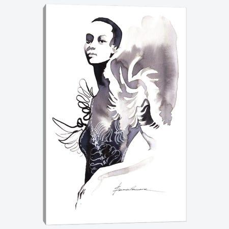 Iris Van Herpen Canvas Print #KHB13} by Khrystyna Barabanova Canvas Art