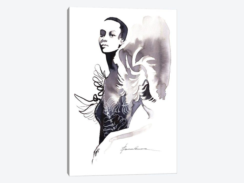 Iris Van Herpen by Khrystyna Barabanova 1-piece Canvas Artwork