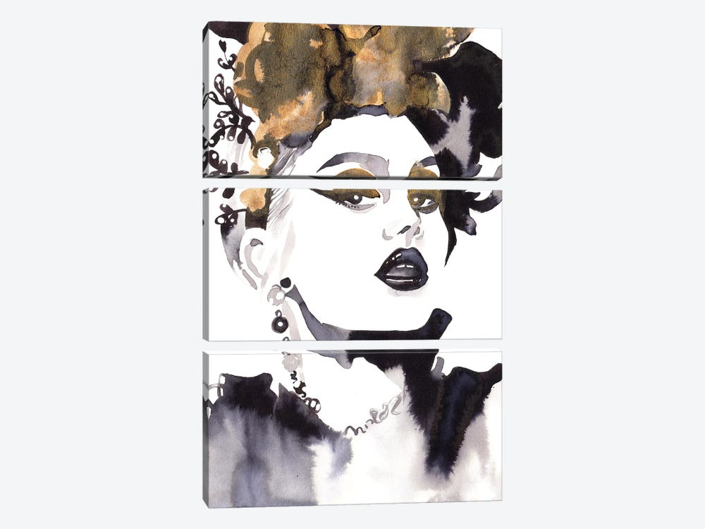 Linda Hallberg by Khrystyna Barabanova 3-piece Art Print