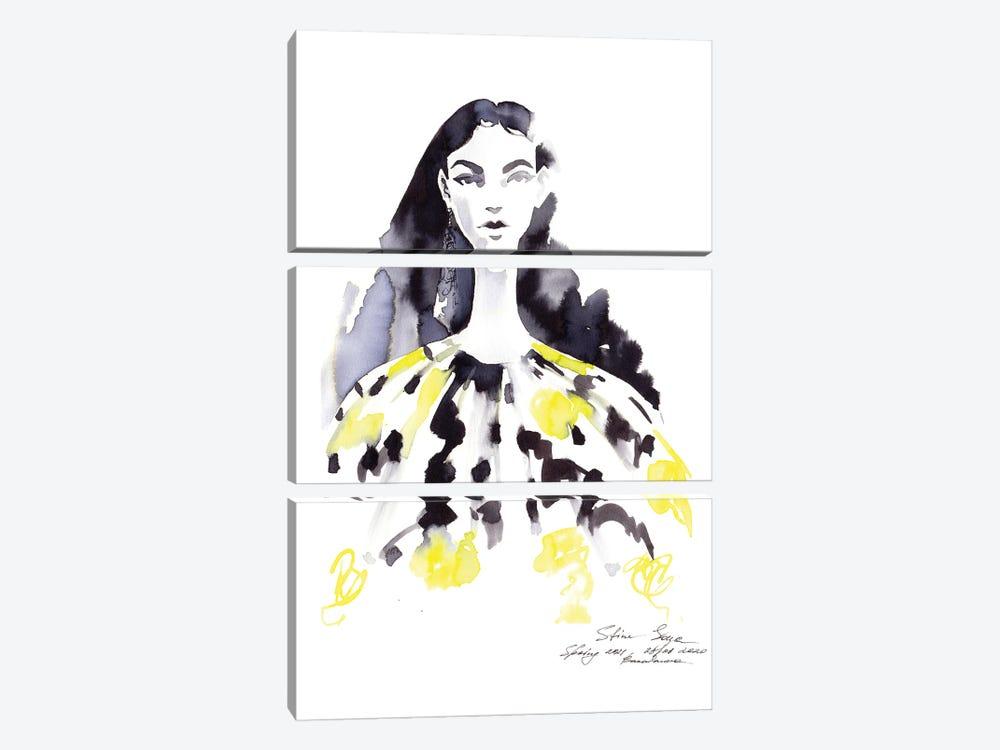 Stine Goya by Khrystyna Barabanova 3-piece Canvas Artwork