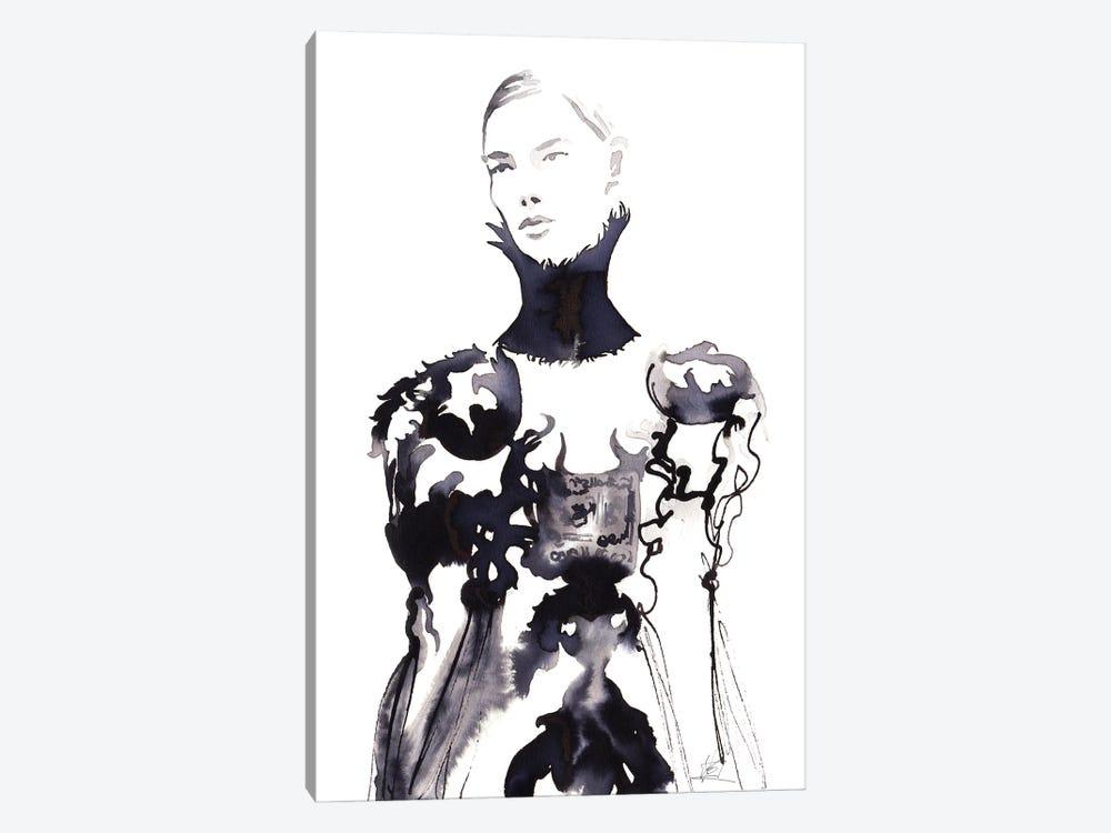 Alexander Mcqueen Runway by Khrystyna Barabanova 1-piece Canvas Print