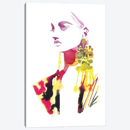 No Emotions, Only Fashion Canvas Print #KHB7} by Khrystyna Barabanova Art Print