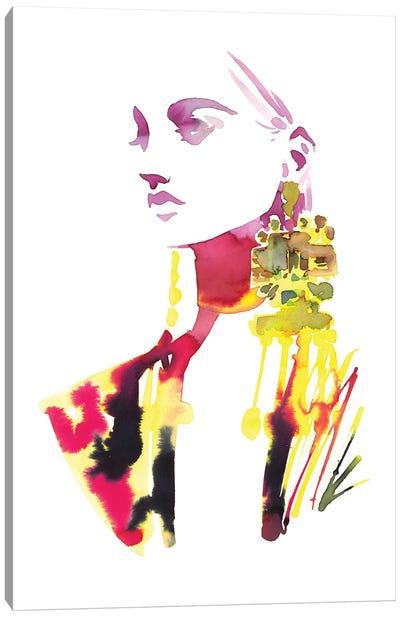 No Emotions, Only Fashion Canvas Art Print