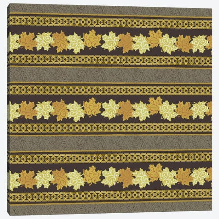 Maple Ribbons I Canvas Print #KHF3} by Katia Hoffman Canvas Artwork