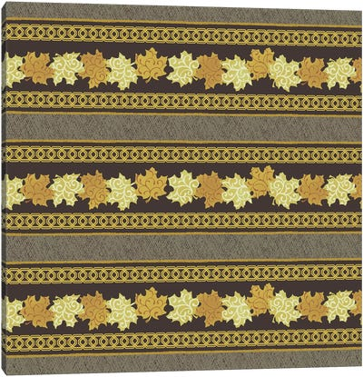 Maple Ribbons I Canvas Art Print