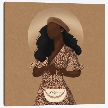 Fashionista Canvas Print #KHI16} by Khia A. Canvas Wall Art