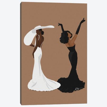 Glamour Girls Canvas Print #KHI28} by Khia A. Canvas Artwork