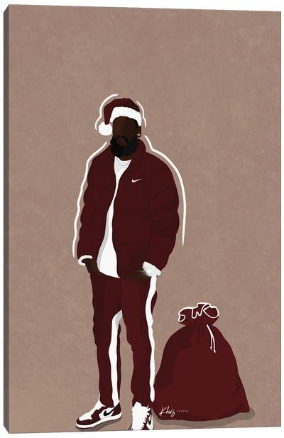 Hip Santa Canvas Art Print