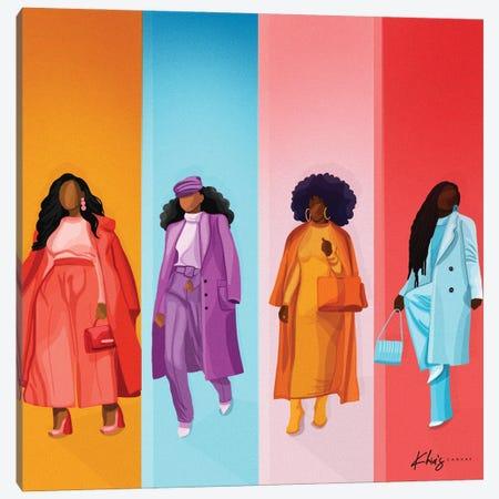 Pop Of Color Canvas Print #KHI40} by Khia A. Canvas Wall Art