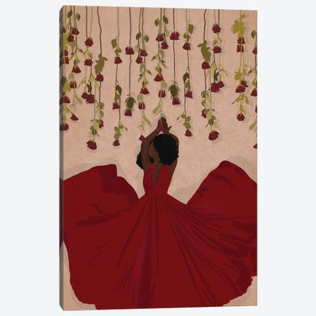 Roses Are Red Canvas Print #KHI43} by Khia A. Canvas Art