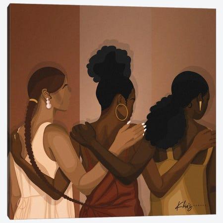 Sisterhood Canvas Print #KHI46} by Khia A. Canvas Art Print