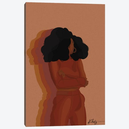 Vibrations Canvas Print #KHI47} by Khia A. Canvas Art Print