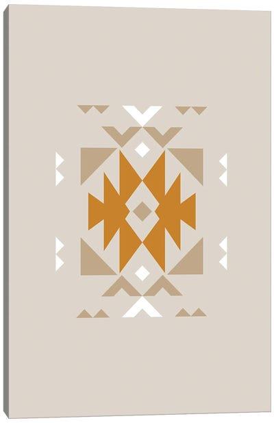 Aztec Tribal Southwestern Pattern Canvas Art Print