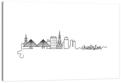 Charleston Skyline Canvas Art Print