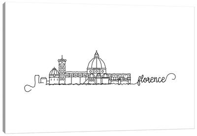Florence Skyline Canvas Art Print