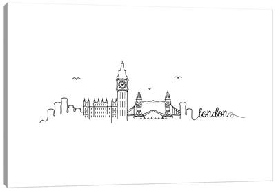 London, England Canvas Art Print