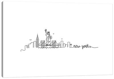 New York City Skyline Canvas Art Print