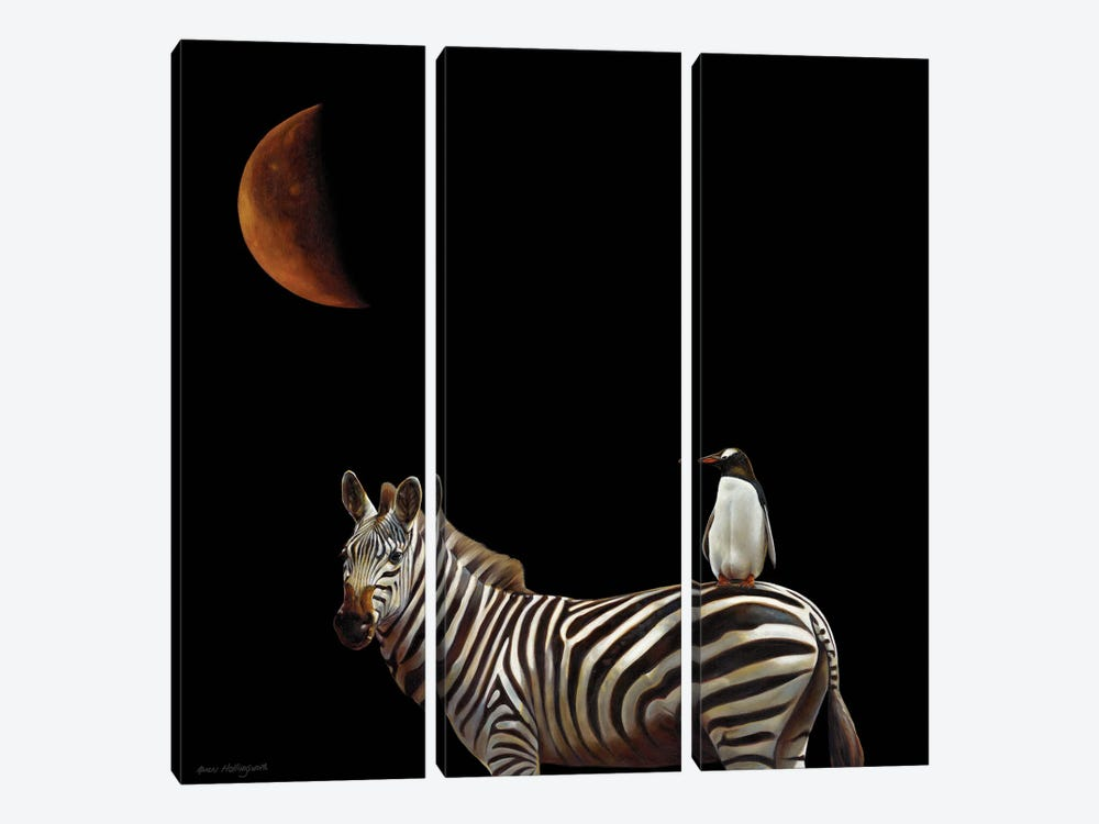 Pilgrimage by Karen Hollingsworth 3-piece Canvas Wall Art