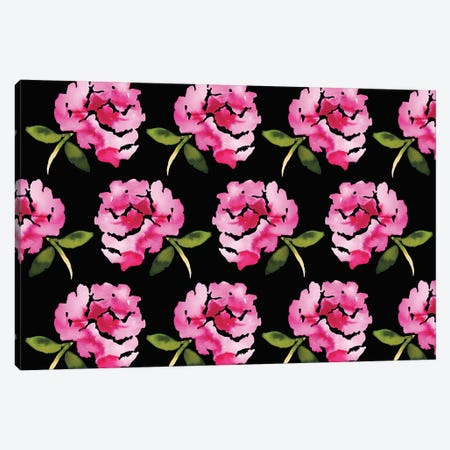 Pretty Flowers Canvas Print #KHR109} by Kahri Canvas Art