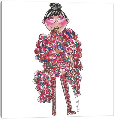 Rihanna, 2017 Met Gala Canvas Art Print