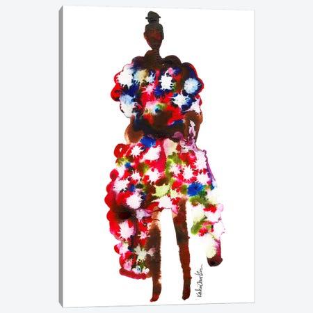 Rihanna, 2017 Met Gala (Abstract) Canvas Print #KHR116} by Kahri Canvas Artwork