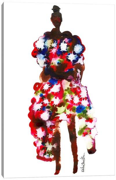 Rihanna, 2017 Met Gala (Abstract) Canvas Art Print