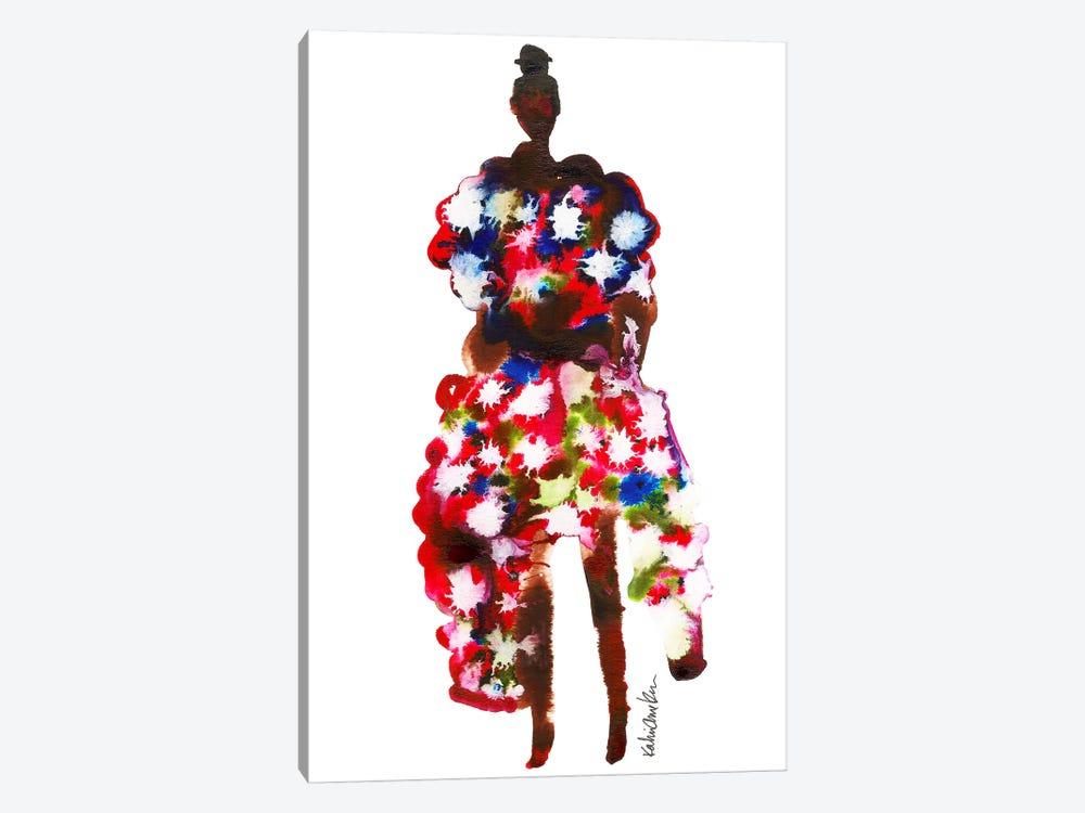 Rihanna, 2017 Met Gala (Abstract) by Kahri 1-piece Canvas Artwork