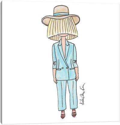 Sia, Clavin Klein Spring 2016 Italo Zucchelli Event Canvas Art Print