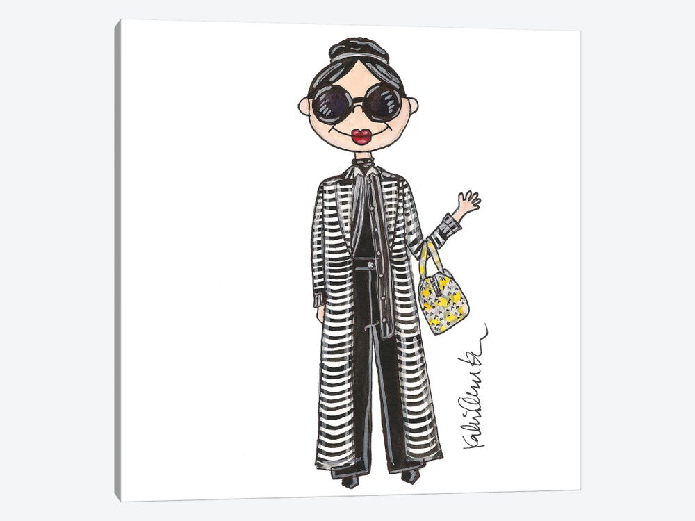 Stacey Bendet by Kahri 1-piece Canvas Print